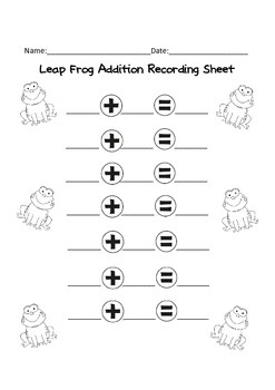 Leap Frog Addition