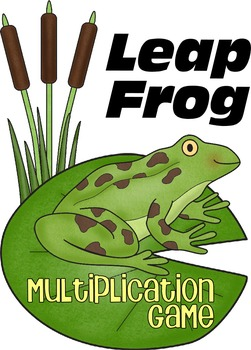 Leap Frog Multiplication Math Game (2nd-5th Grade)