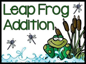 Leap Frog Number Line Addition