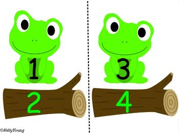 Leap Frog Skip Counting