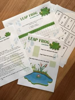 SUBTRACTION MATH GAME - LEAP FROG