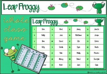 Leap Froggy Game