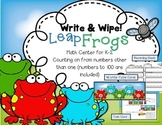 Leap Frogs--Numbers to 100 Write & Wipe Center for K-2