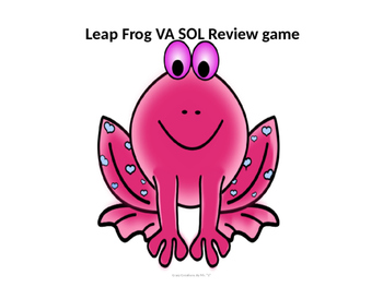 Leap Frog VA SOL Review Game
