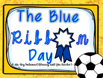 Leap Into Literacy {{Using The Blue Ribbon Day}}