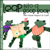Spring Bulletin Board - Leap Into a Good Book - Book Report & Frog Craft