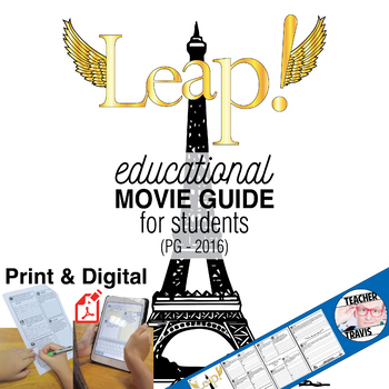 Leap! Movie Guide (PG - 2016) - Ballerina Movie Guide