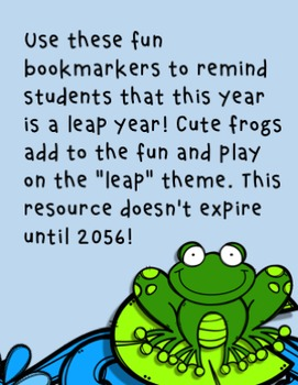 Hoppy Leap Year