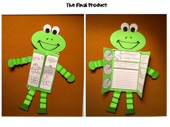Leap Year Frog Craftivity