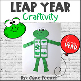 Leap Year 2020 Frog Craftivity