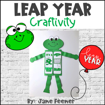 Leap Year Frog Craftivity