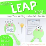Leap Year Activities and Craft | Hoppy Leap Year!