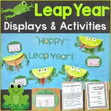 Leap Year Bulletin Board, Writing Prompt, & Activity Pages