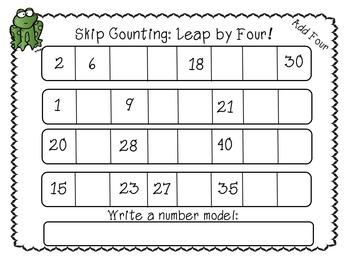 Leap Year ELA/ Math Packet