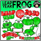 Leap Year Frog Clip Art Bundle {Educlips Clipart}