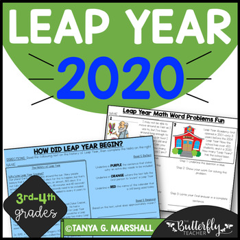 Leap Year/Leap Day Actvities-NO PREP