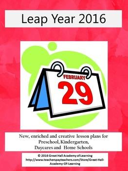 Leap Year Lesson Plans