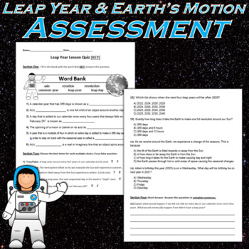 Leap Year - Lesson, Powerpoint & Printables