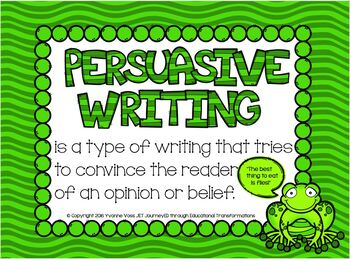 Leap Year Persuasive Writing