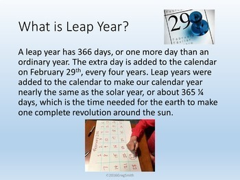 Leap Year PowerPoint