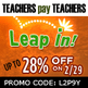 2012: Leap Year Sale Banners for TpT Sellers
