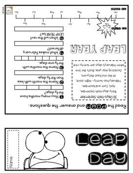 Leap Year Step Book