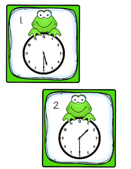 Leap Year:  Telling Time to the Half Hour