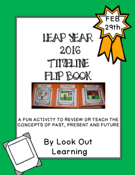 Leap Year Timeline Flipbook