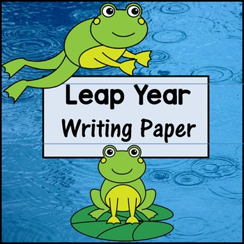 Leap Day Writing Paper