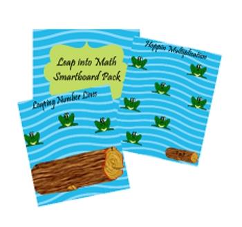 Leap into Math Smartboard Pack