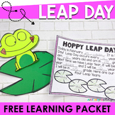 Leap Day and Leap Year Printable Activities