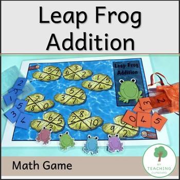 Leapfrog Addition - Maths Game