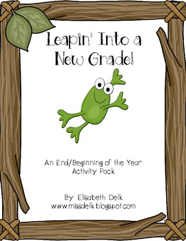 Leapin' Into a New Grade! {An End/Beginning of the Year Ac