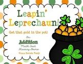 Leapin' Leprechaun! ~Additon Math Fact Fluency Game~