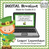 Digital Breakout Escape Room - St. Patrick's Day (K-2)