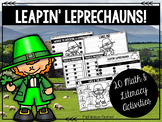 St. Patrick's Day Math and Literacy Activity Pack