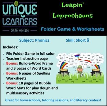 Leapin' Leprechauns - Phonics Short Vowel o