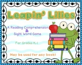 Leapin' Lilies Fiction Reading Comprehension Game K-1