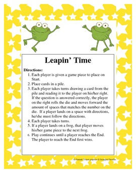 Leapin Time Game