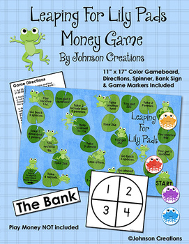 Leaping For Lily Pads Money Game