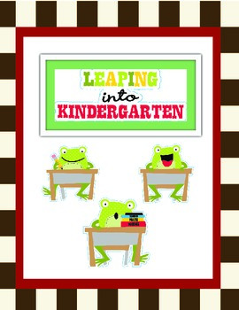 Leaping Frogs: Kindergarten Bundle-Reading Posters and More