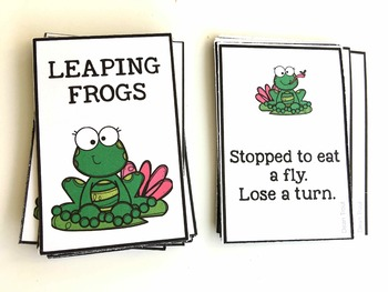 Leaping Frogs Quick Play Board Game