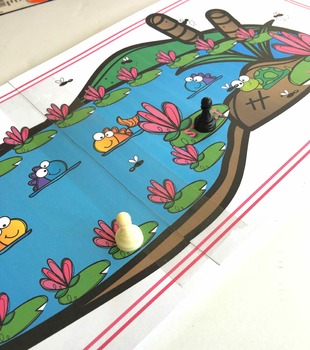 Speech Therapy Activities Leaping Frogs Quick Play Board Game