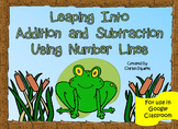 Leaping Into Addition and Subtraction Using Number Lines (