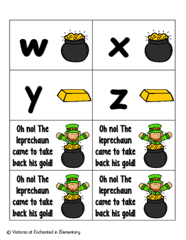 Leaping Leprechaun Alphabet! Letter and Sound Recognition Game