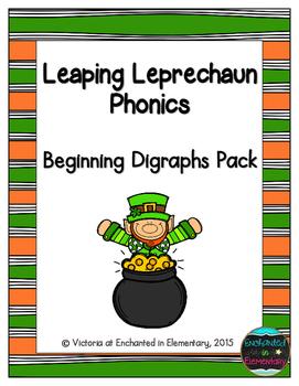 Leaping Leprechaun Phonics: Beginning Digraphs Pack