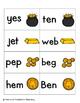Leaping Leprechaun Phonics: CVC Words Pack