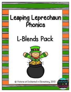 Leaping Leprechaun Phonics: L-Blends Pack