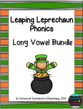 Leaping Leprechaun Phonics: Long Vowel Bundle