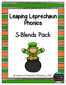 Leaping Leprechaun Phonics: S-Blends Pack
